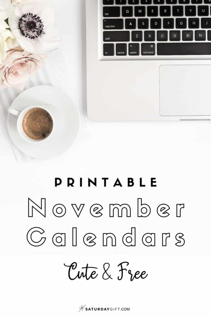 Looking for a cute, free printable November 2020 calendar? Here are some you might like! Choose your favorite from the pretty calendar designs!