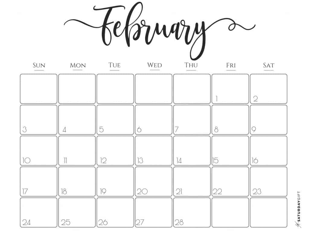 image relating to Printable Calendars Free named Sophisticated 2019 Calendar Absolutely free Printables SaayGift