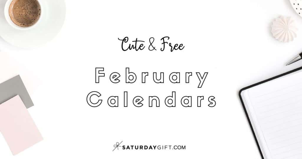 Looking for a cute, free printable February 2022 calendar? Here are some you might like! Choose your favorite from the pretty calendar designs!