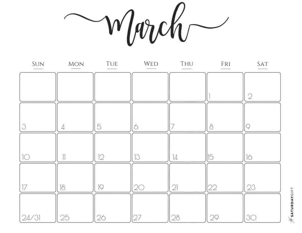photograph about Pretty Printable Calendar called Stylish 2019 Calendar Free of charge Printables SaayGift