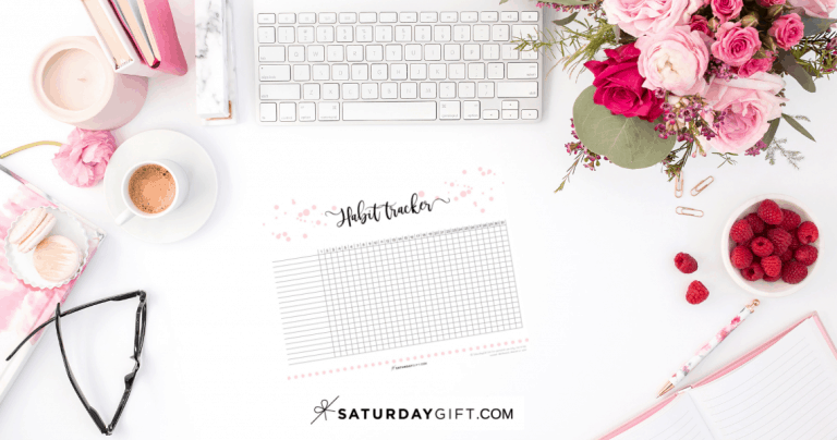 40+ Ideas To Track In Your Daily Habit Tracker {+Free Printable}