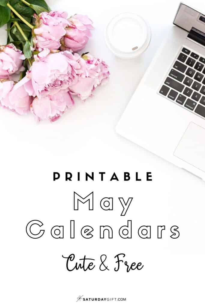 Looking for a cute, free printable May 2020 calendar? Here are some you might like! Choose your favorite from the pretty calendar designs!