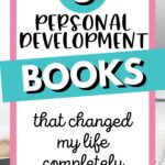 5 personal development books that changed my life Pinterest Image