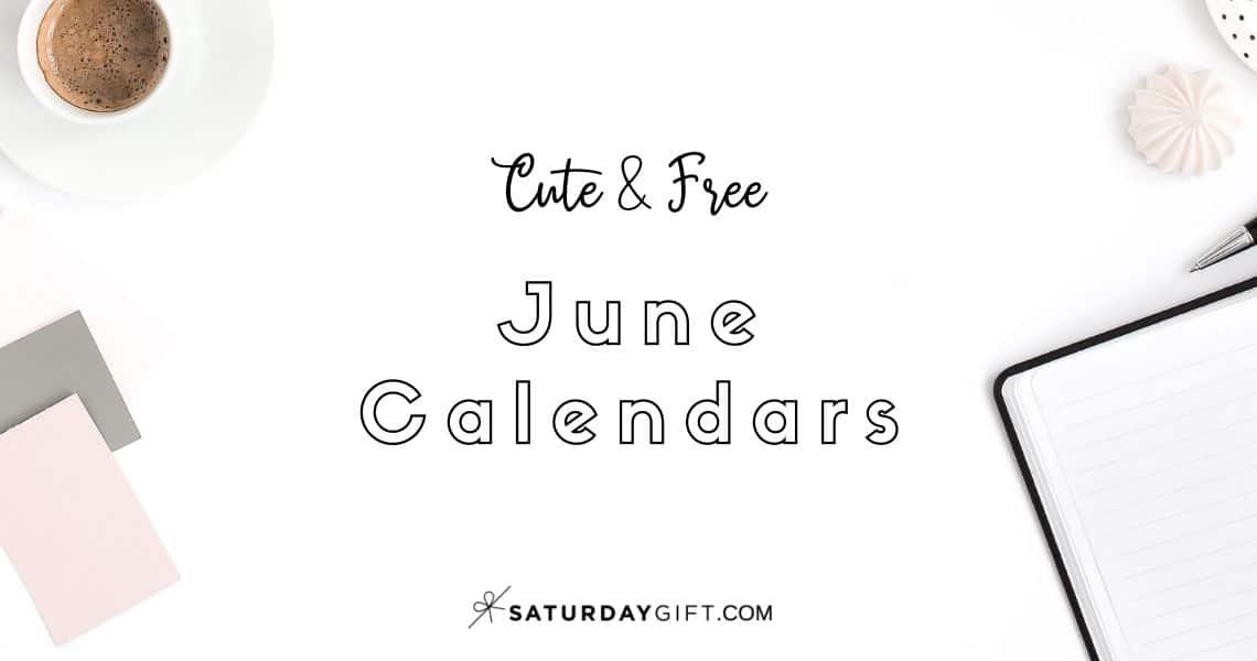 Looking for some cute, free printable June 2020 calendars? Here are some you might like! Choose your favorite from the pretty calendar designs!