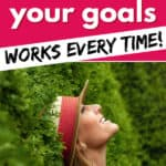 10-step method to achieve your goals Pinterest Image