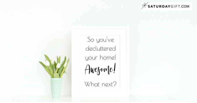 What To Do Next After Your Decluttering Project Is Over
