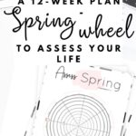 Assess your life with the spring wheel of life {Free printable worksheet} | SaturdayGift