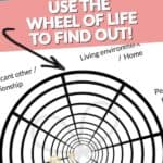 Audit your Life with the Wheel Of Life Pinterest Image