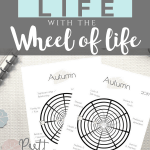 Before setting goals for the fall, assess your life with this autumn wheel of life worksheet and find out in which areas of your life you are suffering or surviving and in which you're thriving. | Free printable planner sheet | Beige | US Letter | Resize to fit any planner | Pretty printable | Planner insert | Planning & Organizing | Minimalistic & simple | SaturdayGift | Saturday gift #SaturdayGift