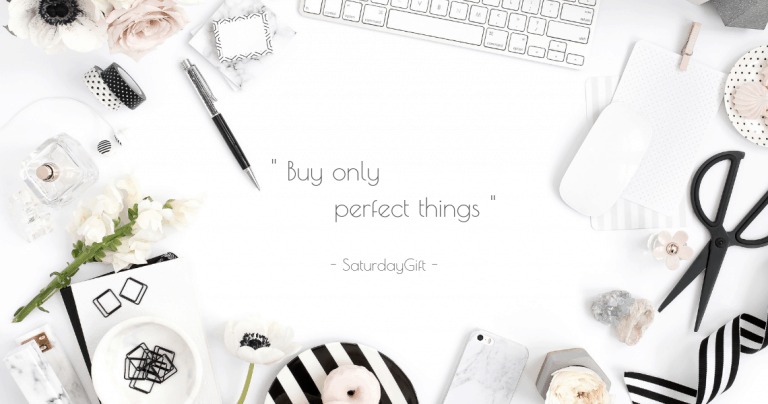 How To only Buy Perfect Things (you'll never later regret)