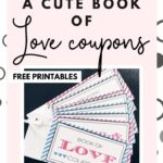 Want to create a cute extra gift for your loved one? Super! Download the Book of Love Coupons {free printables} and gift this fun & lovely coupon book to the one you love.