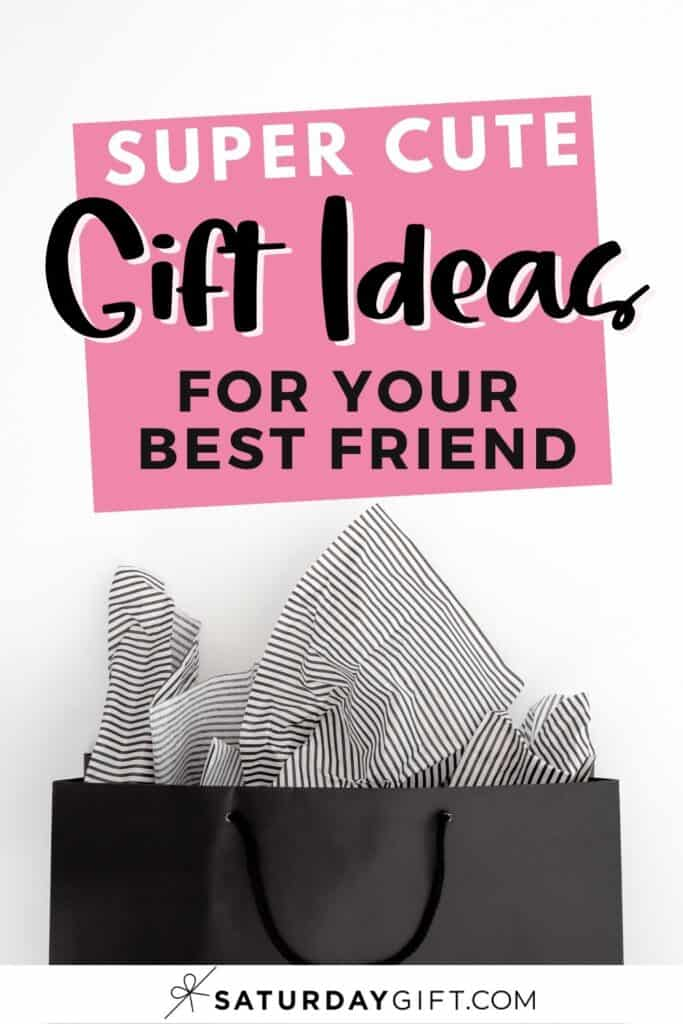 Cute, fun and awesome yet affordable gifts for friends Pinterest Image