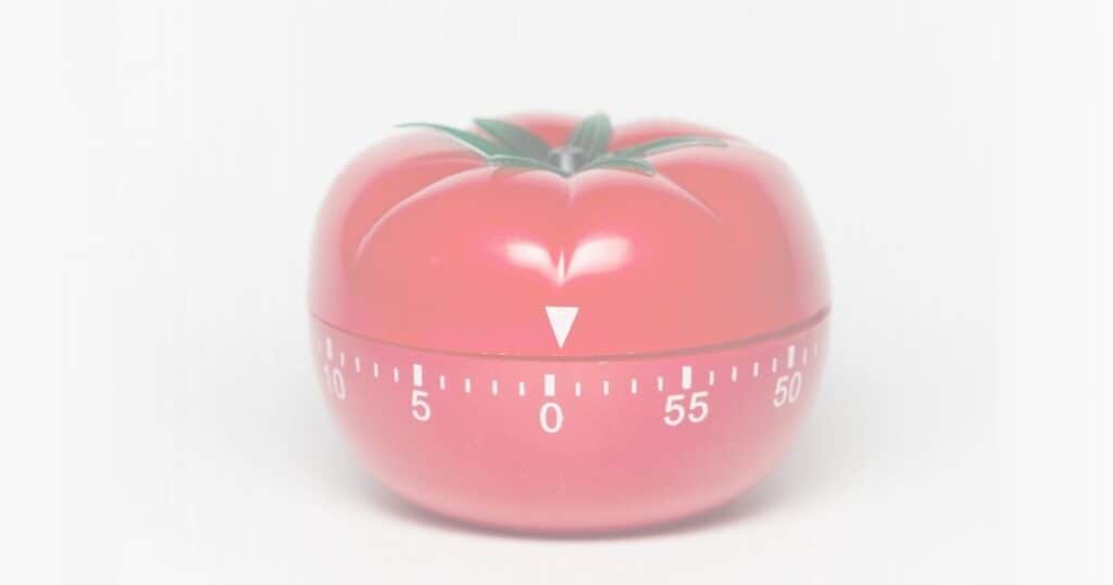 Pomodoro Technique Featured - Tomato Shaped Kitchen Timer