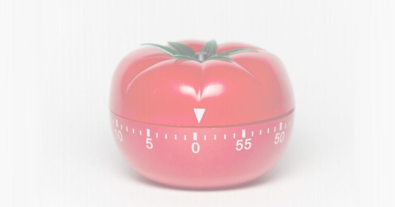 The Pomodoro Technique: Why & How It Works (and why you should use it)