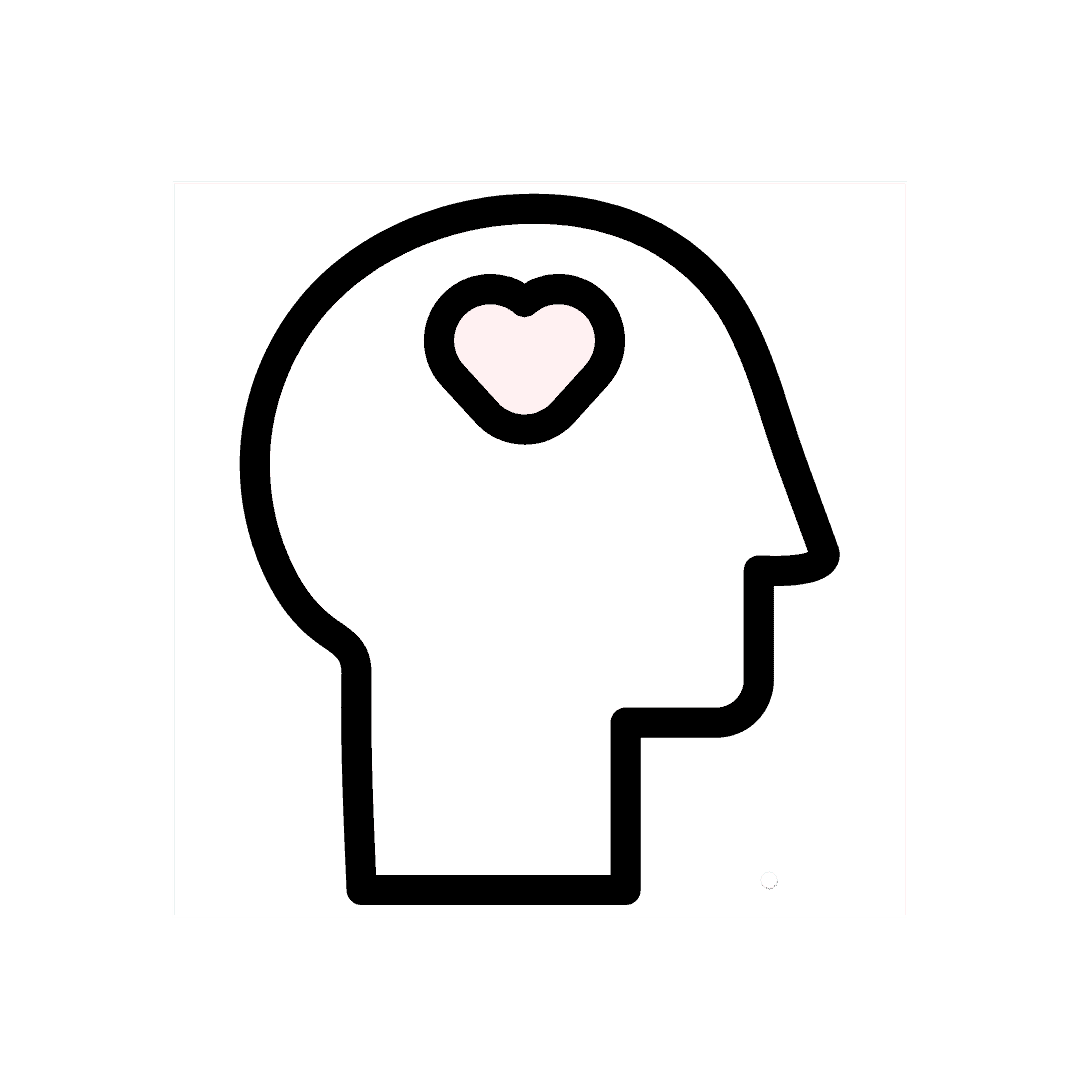 Image of a head with heart