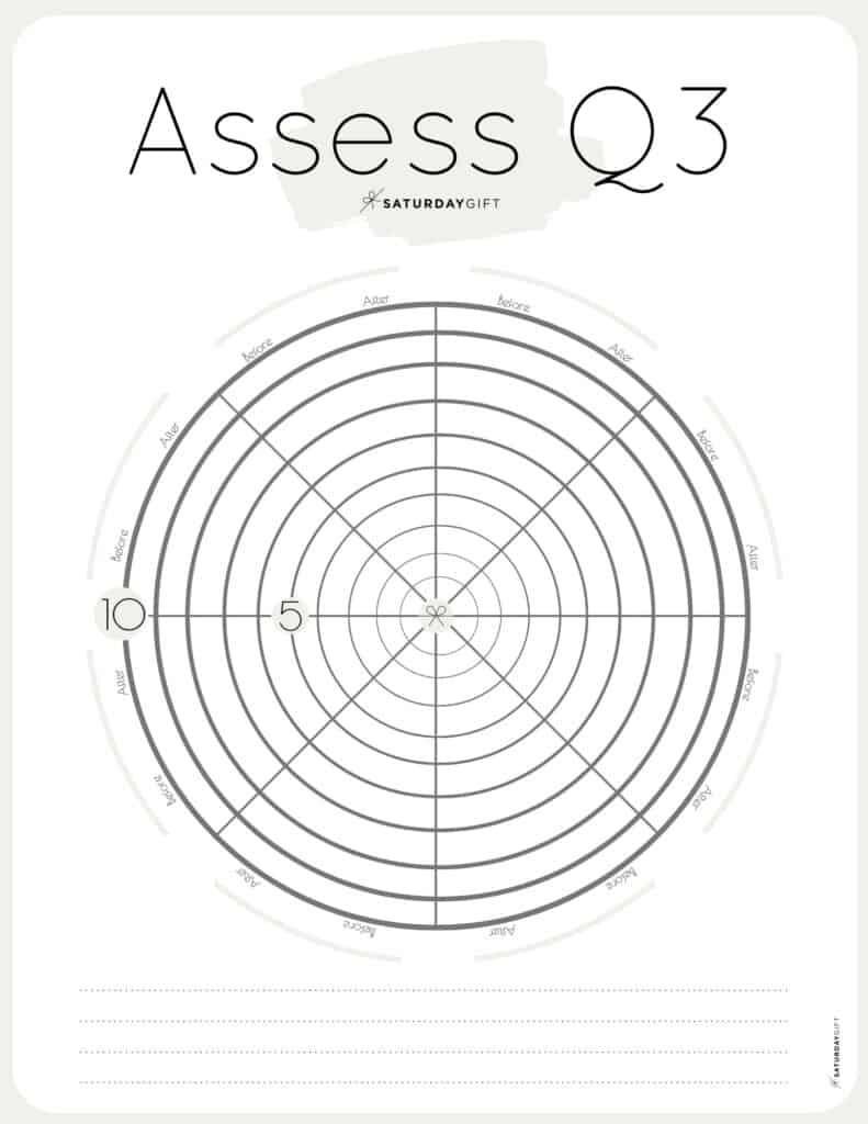 Beige Q3 Level 10 Life Worksheet