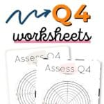 Q4 Level 10 Life - Assess your life with the quarter four wheel of life Pinterest Image