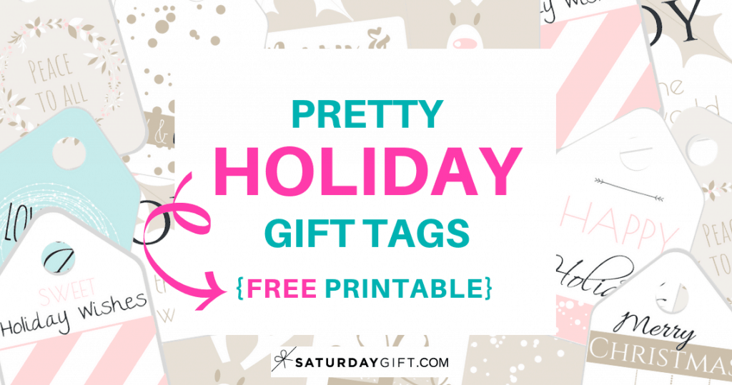photo regarding Free Printable Santa Gift Tags named Attractive Vacation Present Tags No cost Printable SaayGift