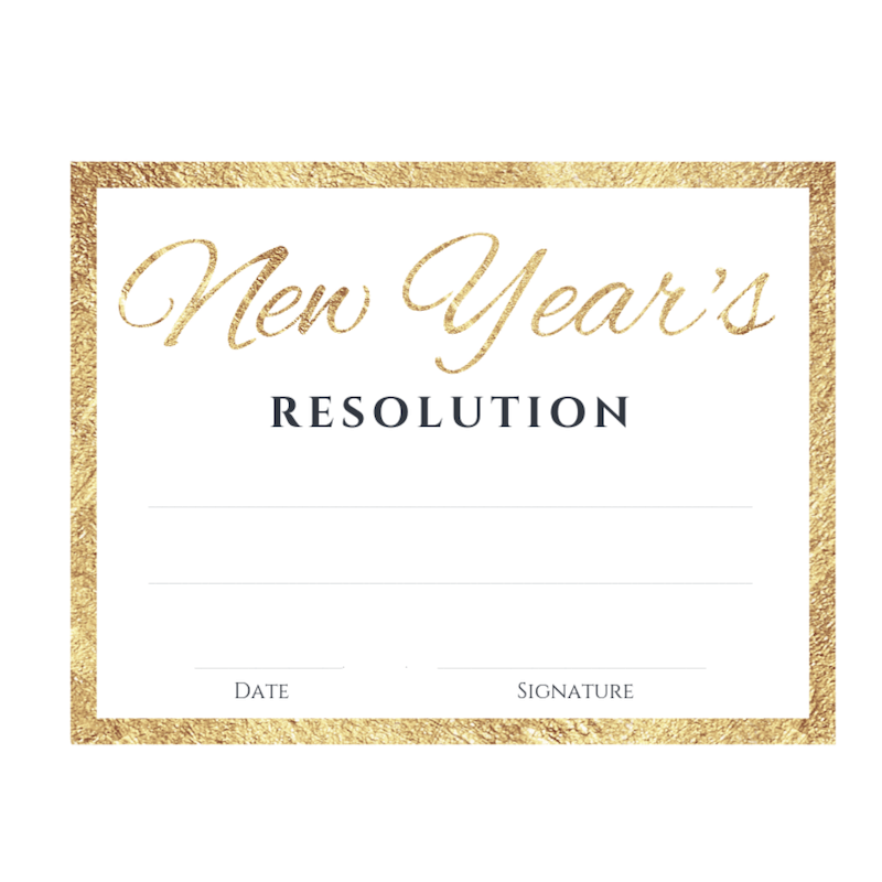 New Year's resolution - free printable | New year's resolution | Achieve your goals | Keep your promise | Feel good printables | Pretty Printables | Free printable | Tags and Labels | Make Dreams Reality | SaturdayGift | Saturday gift #SaturdayGift