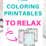 Free Coloring Printables to Relax | coloring sheets | coloring for adults