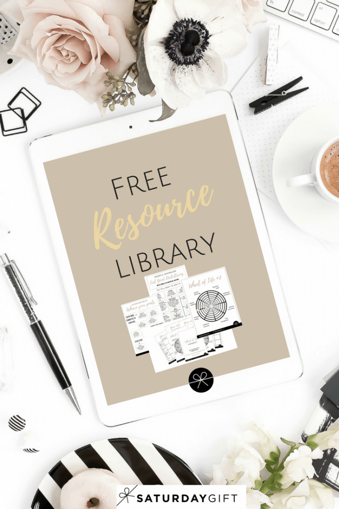 Free resource library - access library | Free library | templates | workbooks | cheat sheets | SaturdayGift | Saturday gift #SaturdayGift