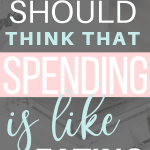 Why you should think that spending and shopping is like eating