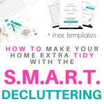 Create SMART decluttering action plan