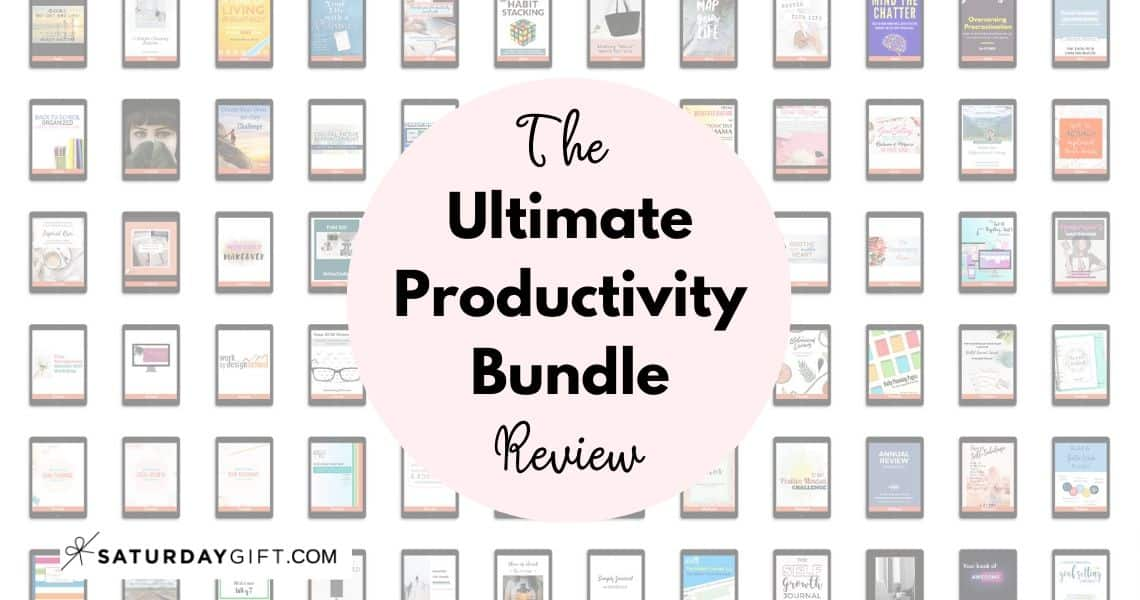 What is The Ultimate Productivity Bundle? What's included in the 2020 bundle? And most importantly: Should you buy it?