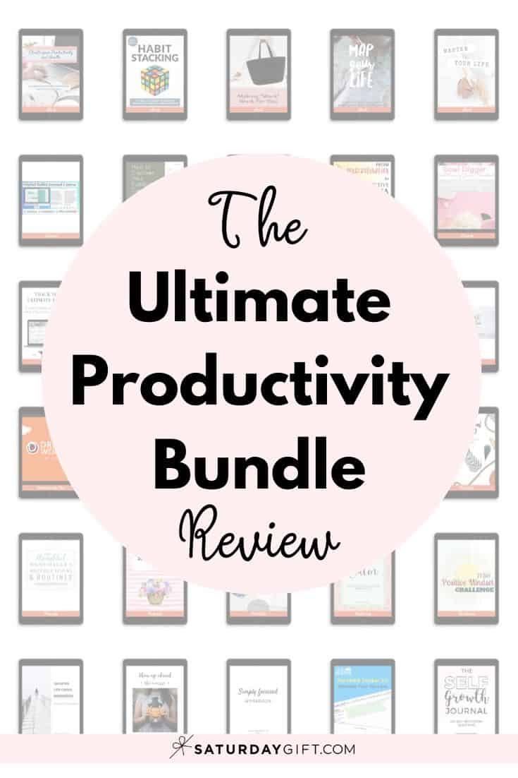 What is The Ultimate Productivity Bundle? What\'s included in the bundle? And most importantly: Should you invest in it? #productivity #ultimatebundles