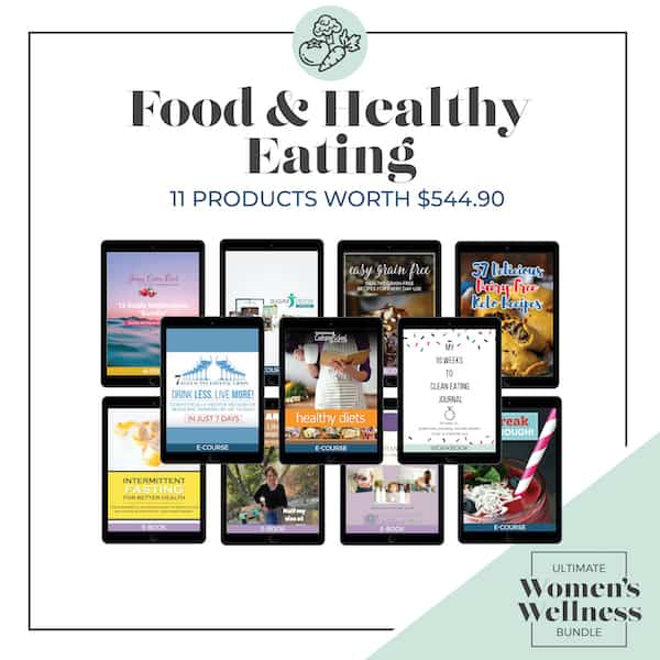 The Ultimate Women's Wellness Bundle Category Food & Healthy Eating | SaturdayGift