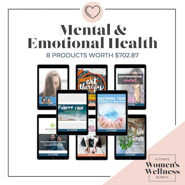 The Ultimate Women's Wellness Bundle Category Mental & Emotional Health | SaturdayGift