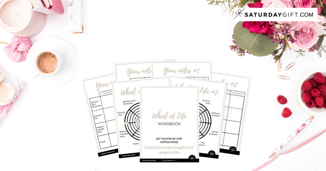 Life audit (+ free workbook) | Wheel of Life | Self Development | Life Coach Tools | Template | Free Printables | Work sheets | step by step guide | free templates | SaturdayGift | Saturday Gift #SaturdayGift