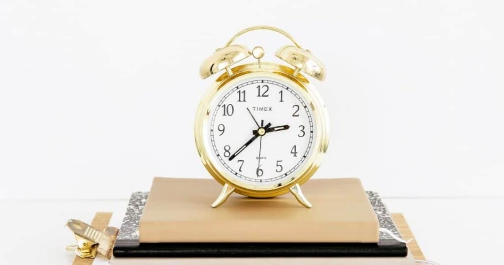Gold Clock | Time management 101