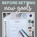 Winter reflection worksheet. It's important to reflect before setting goals for the spring {+free worksheet} | Pretty printable | Planner sheet | Goal Planning | Reflect my year | Reflect on life | Achieve your goals | Self Development | Personal Development | Organization | Planning | SaturdayGift | Saturday gift #SaturdayGift